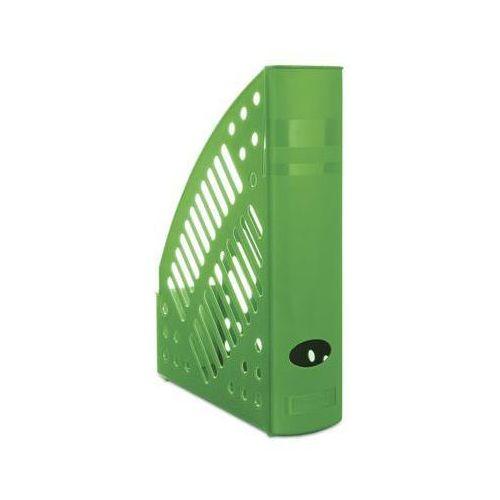 Pojemnik na dokumenty (czasopisma) Donau A4 zielony 70x320x240 (7462001PL-06) (5901498065425)