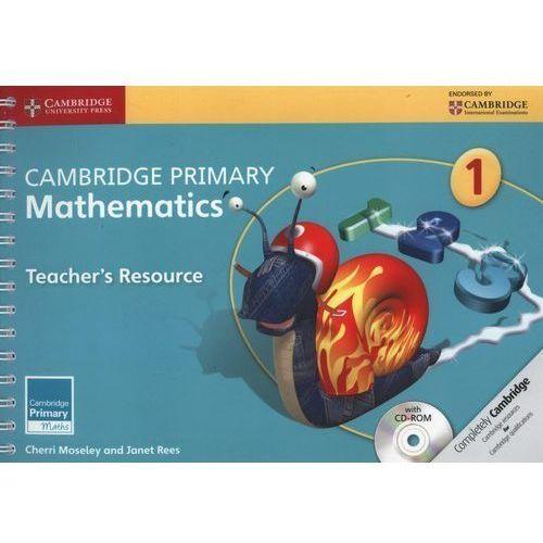 Cambridge Primary Mathematics Stage 1 Teacher's Resource With Cd-rom, Moseley, Cherri / Rees, Janet