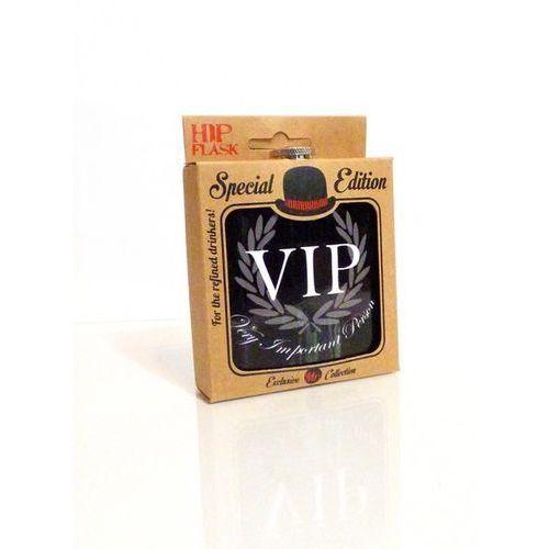 Piersiówka VIP - czarna