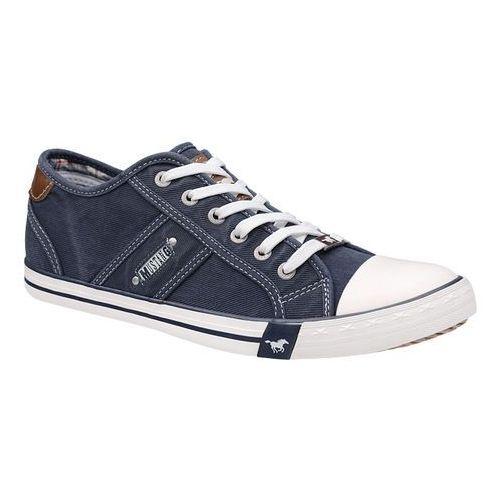 Trampki MUSTANG 42A002 Granatowe 4058-305-800 Dunkel Blau - Granatowy, kolor niebieski