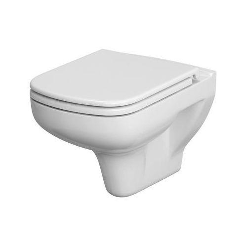 Miska WC Cersanit Colour bezkołnierzowa z deską duroplast wolnoopadającą