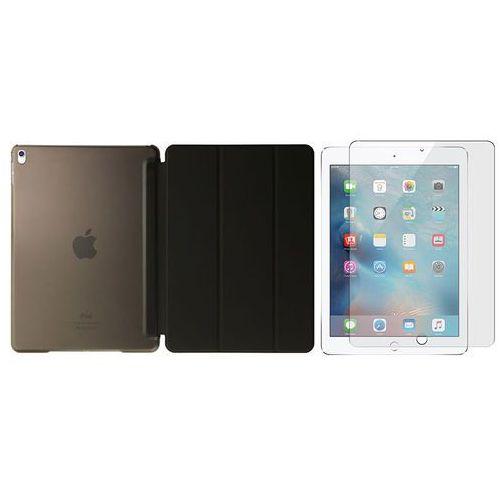 Etui Smart case crystal do iPad Pro 9.7 Czarne + Szkło - Czarny