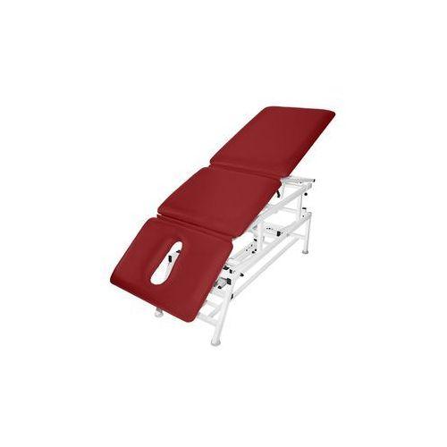 Stół rehabilitacyjny 3-cz. elektryczny z funkcją fotela i pivot ręczny master 3e-fp marki Bardo-med