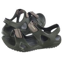 Sandały Crocs Swiftwater River Sandal M Army Green/Khaki 203965-354 (CR124-d)