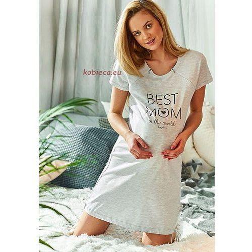 Koszula nocna ciążowa i do karmienia 9081, Dobranocka