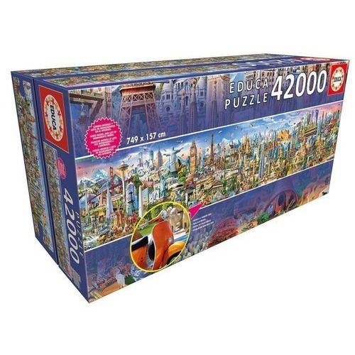 Educa Puzzle 42000 elementów, dookoła świata - darmowa dostawa!!!
