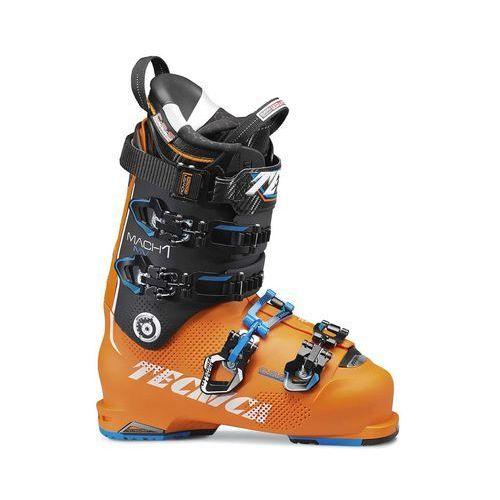 Tecnica Buty narciarskie mach1 130 mv + bd quick foam pomarańczowa/czarny 28
