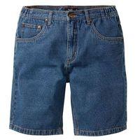 Bermudy dżinsowe Classic Fit bonprix niebieski
