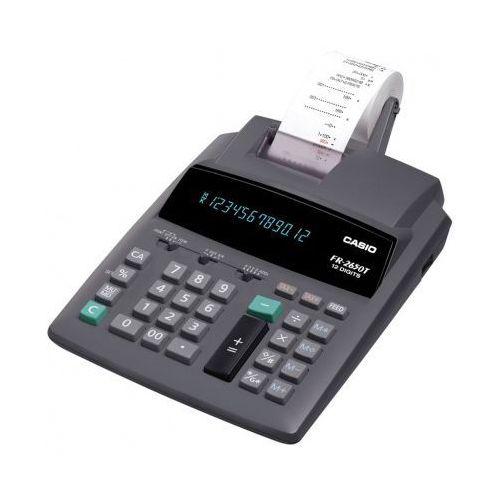 Casio Kalkulator kalkulator casio, fr 2650 t, szara, kalkulator darmowy odbiór w 20 miastach! (4971850167273)