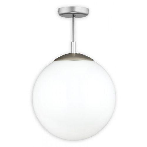Lemir Kula pełna d30 lampa sufitowa 1-punktowa biała o1836 w1 k_8 (5902082865865)