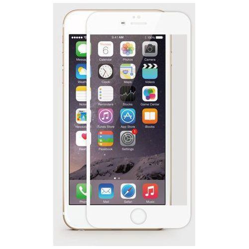 Jcpal Szkło hartowane dla iphone 6 na cały ekran (biała ramka) -  perfect glass - czarny (6954661842674)
