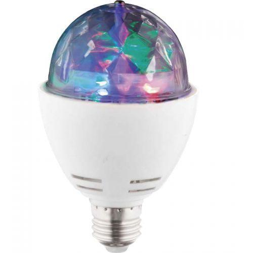 Globo lighting Żarówka led e27 3w 21lm rgb disco 10601