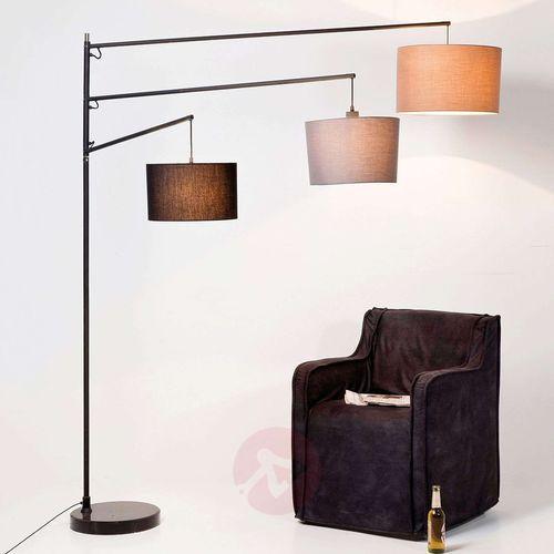 3-punktowa lampa stojąca Lemming Tree z tkaniny (4025621331711)