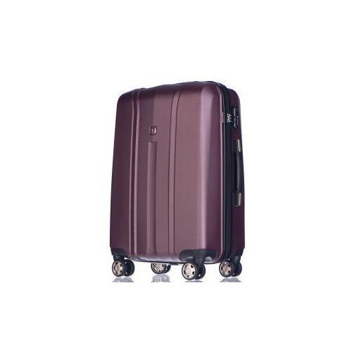 PUCCINI walizka duża z kolekcji PC018 TORONTO twarda 4 koła materiał policarbon zamek szyfrowy TSA