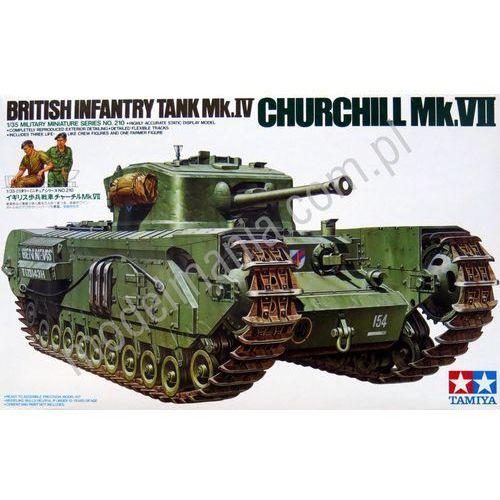 Czołg wsparcia piechoty Mk.VII Churchill Tamiya 35210 (4950344995622)