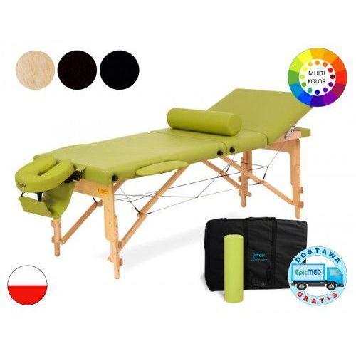 Mov Składany stół do masażu reflex drewniany z regulacją wysokości