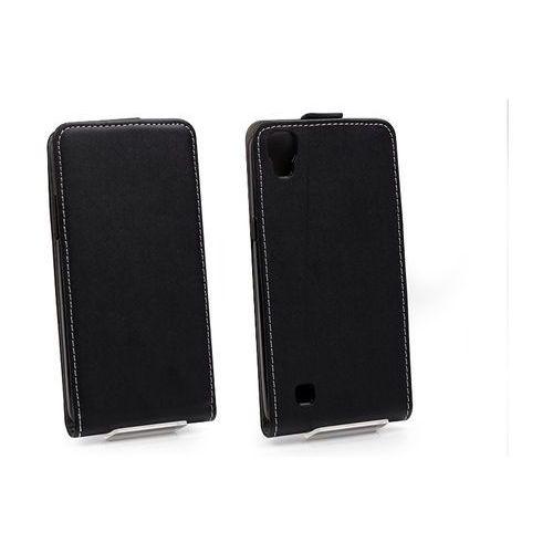LG X Power - etui na telefon Forcell Slim Flexi - czarny, ETLG376ELFXBLK000