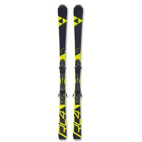 FISCHER Narty zjazdowe RC4 SPEED PT + RC4 Z 11 PR 165 czarny/żółty (9002972294907)