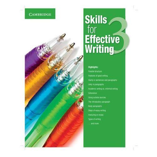 Skills for Effective Writing 3. Student's Book, oprawa miękka