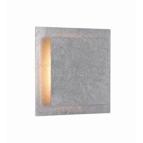 Wofi Kinkiet fey led srebrny, 1-punktowy - nowoczesny - obszar wewnętrzny - fey - czas dostawy: od 3-6 dni roboczych