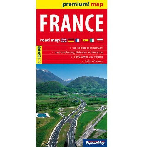 Francja mapa 1:1 050 000 ExpressMap, EXPRESSMAP