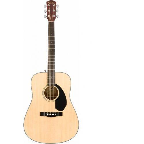 Fender cd-60s dreadnought natural wn gitara akustyczna