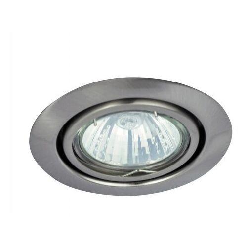 Oczko lampa sufitowa oprawa wpuszczana Rabalux Spot Relight 1x50W GU 5.3 satynowy chrom 1093, 1093