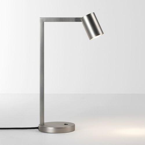 Astro Stojąca lampa stołowa ascoli desk 4581 biurkowa lampka nocna matowy nikiel (5038856045819)