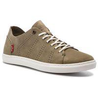 Sneakersy LEVI'S - 227811-1703-36 Regular Khaki, kolor zielony