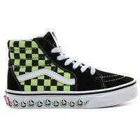 Vans Buty - sk8-hi (vans bmx)blk/sharp green (v3w)