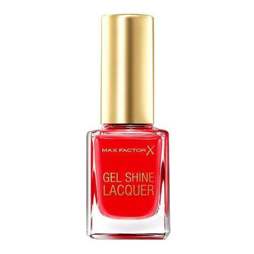 Max factor  gel shine lacquer 11ml w lakier do paznokci 20 vivid vermillion (96091210)