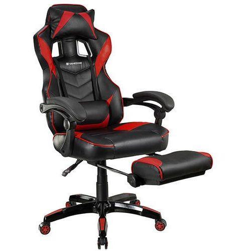 Fotel TRACER Gamezone Masterplayer Czarno-czerwony (5907512863671)