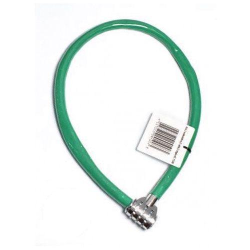 Zapięcie rowerowe MASTERLOCK QUANTUM 8631 6mm 55cm SZYFR zielony MRL-8631 SS16 (9788376052924)