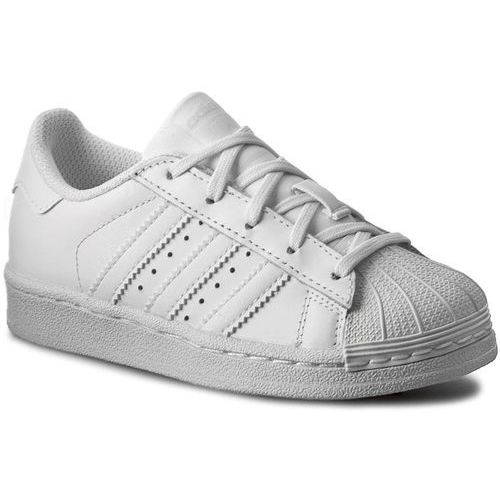 Buty - superstar foundation c ba8380 ftwwht/ftwwht/ftwwht marki Adidas