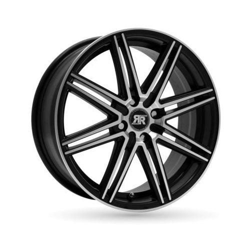 Felga RACER CROSS BLACK MACHINED FACE 7x17 5x105 ET40 (3661741054829)