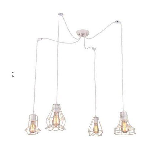 Ledart Lampa imperia loft vintage pająk biała