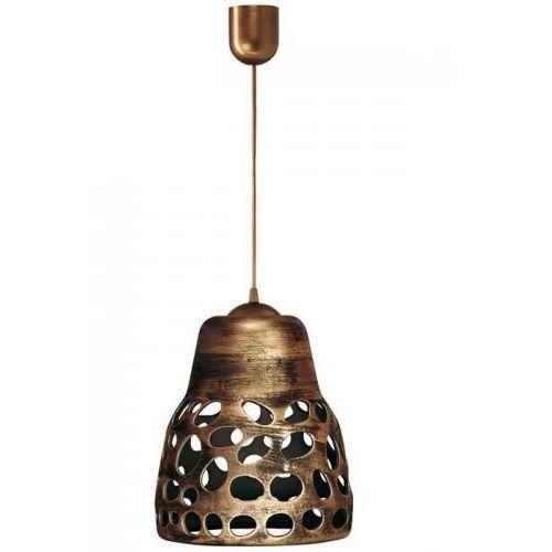 Lampa wisząca 002/1 ZLO - Lampex - Sprawdź kupon rabatowy w koszyku (5902622113579)