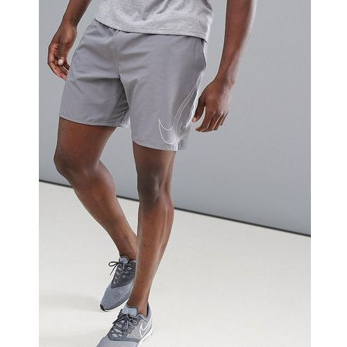 flex distance flash reflective 7 inch shorts in grey 899498-036 - grey, Nike running