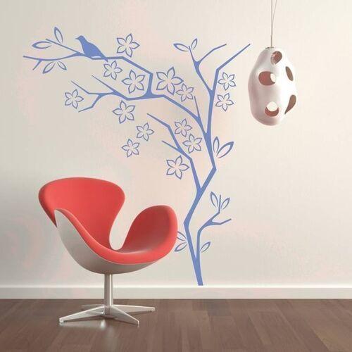 Naklejka dekoracyjna drzewo ptak 2115 marki Wally - piękno dekoracji