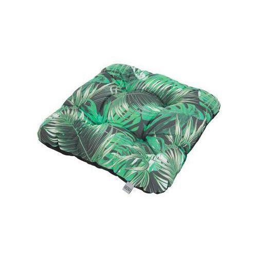 Poduszka na siedzisko 38 x 38 x 8 cm ellen zielona marki Patio
