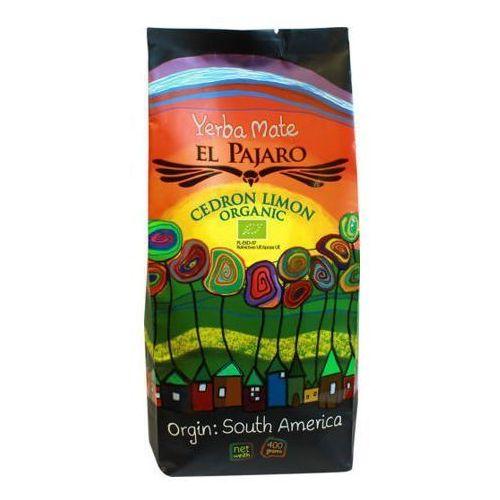 Zestaw Yerba mate El Pajaro Cedron Limon Organic 400g (5906395648979)