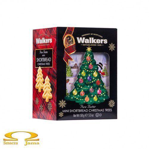Walkers Ciastka shortbread christmas tree 150g