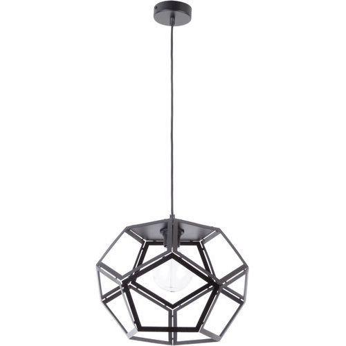 LAMPA wisząca ATO L 31875 Sigma geometryczna OPRAWA metalowy ZWIS loft czarny, 31875