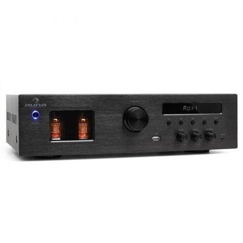 tube 65 wzmacniacz lampowy hi-fi mp3-usb-2 x 60w rms 600w max. marki Auna