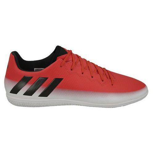 c207851b1 Najniższe ceny, najlepsze promocje w sklepach, opinie. Adidas performance  Buty halówki adidas messi 16.3 in ba9017 - czerwony (4057283488076).  Najniższe