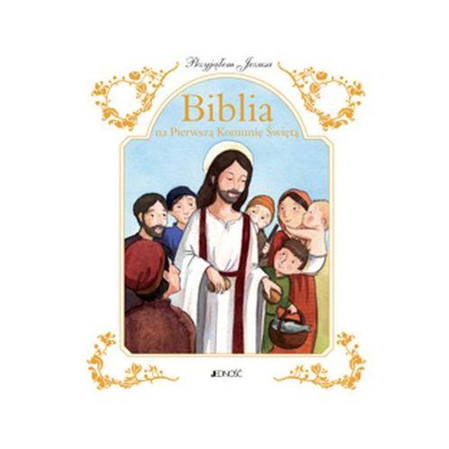 Przyjąłem Jezusa Biblia na Pierwszą Komunię Świętą - Jeśli zamówisz do 14:00, wyślemy tego samego dnia. Darmowa dostawa, już od 99,99 zł. (9788379714001) - OKAZJE