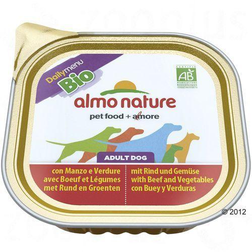 Almo nature daily menu bio dog kurczak z ziemniakami - szalka 300g