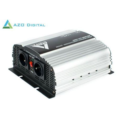 Azo digital Samochodowa przetwornica napięcia 12 vdc / 230 vac ips-2400 2400w (5905279203792)