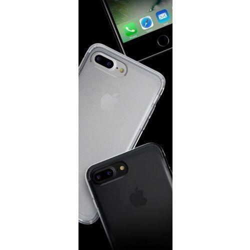 Etui nude do iphone 7 plus przezroczysto-czarny marki Puro