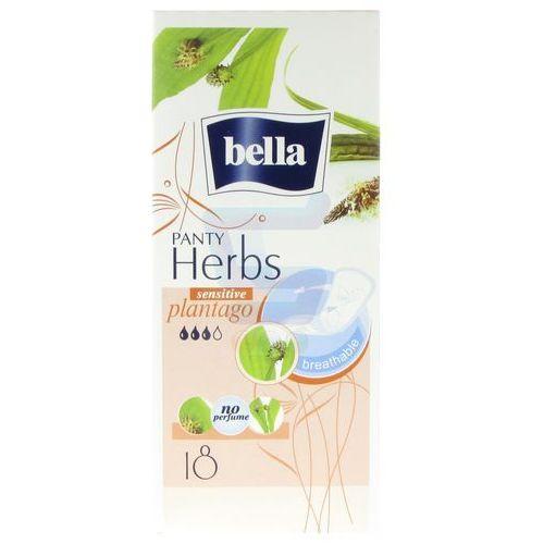 Wkładki higieniczne Bella Herbs Sensitive z babką lancetowatą 18 szt. (5900516312374)